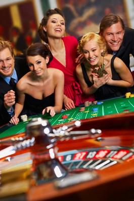 Las Vegas Casino Avond (eigen locatie)