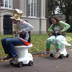 Toilet Racers (eigen locatie)