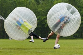 Bubbelbal / Bubble Voetbal