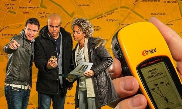 City GPS-tocht