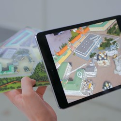 Augmented Reality Game (eigen locatie)