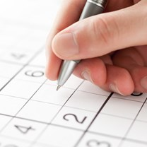 Levend Sudoku in Haarlem