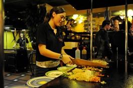 Mongolian Grill Buffet Restaurant Dzjengis Khan.