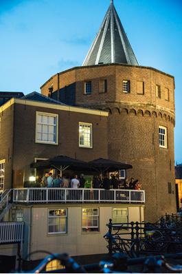 VOC Café in de Schreierstoren Amsterdam