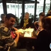 1) Escape Dinner Room Spel Lunch  Veghel
