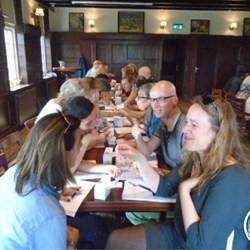 Speeddaten met collega's Haarlem