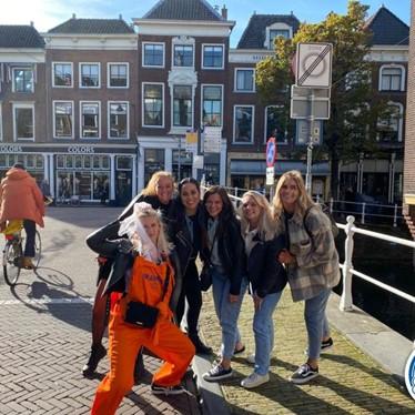 Jachtseizoen Delft